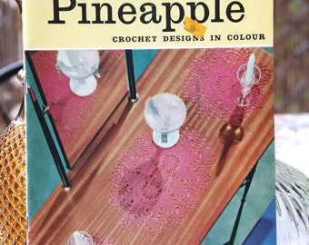 Vintage Pineapple Creations Crochet Designs in Colour Book no 659