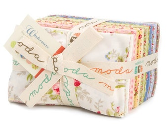 Windermere by Brenda Riddle Designs, Acorn Quilt & Gift Company for Moda Fabrics.  Fat Eighth Bundle 18610F8