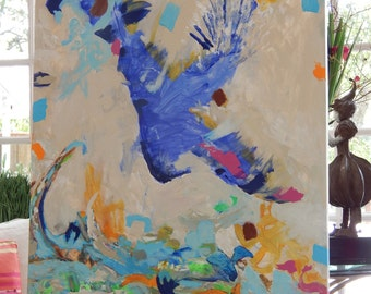 SOLD!!!  Large Original Paintings by Pamela Qarbaghi  SOLD!!!