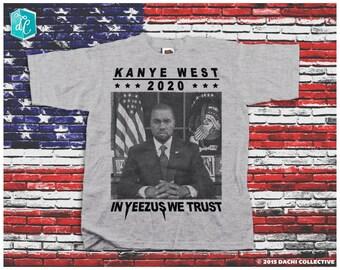 Kanye West For President 2020 - Kanye Shirt. Kanye Jumper. Yeezus 2020  - Pick Your Size S - 3XL!!!