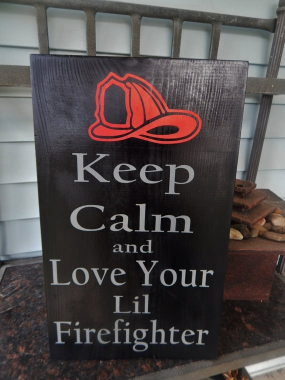 Items Similar To Baby Room Decor Child 39 S Firefighter Decor Firefighter