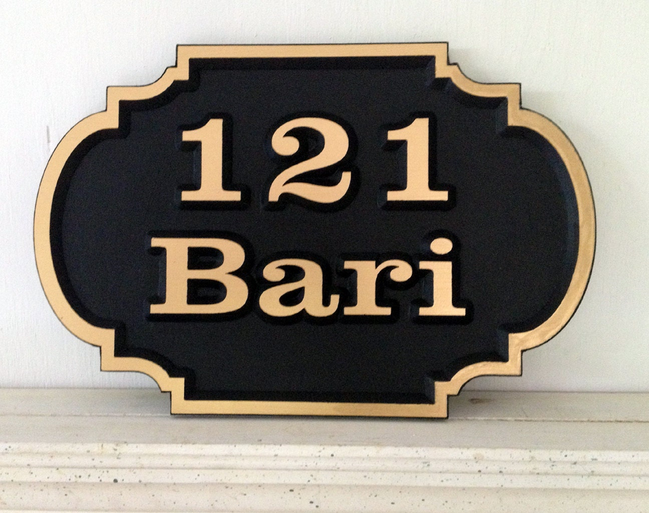 address signs pvc signs embossed house sign beach plaque. Black Bedroom Furniture Sets. Home Design Ideas