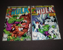 Incredible Hulk 247, 249, (1980), Marvel Comics HI