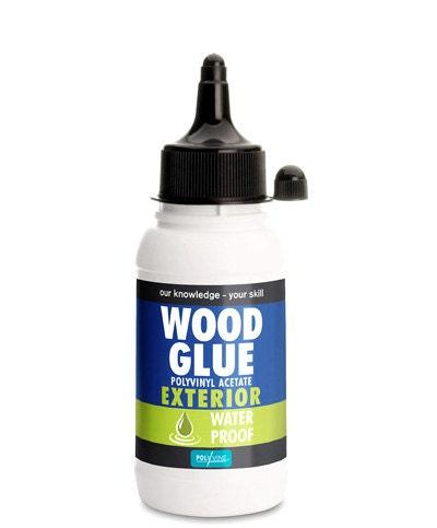 Polyvine Waterproof Exterior Polyvinyl Acetate Wood Glue 125ml