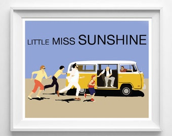Little Miss Sunshine Inspired Movie Poster Print