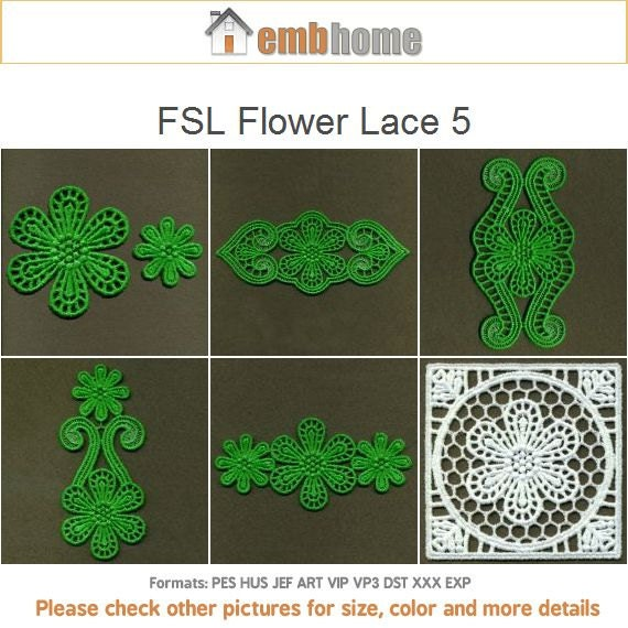 Items similar to fsl flower lace free standing