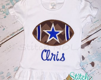 Star Football Shirt or Bodysuit Boy or Girl