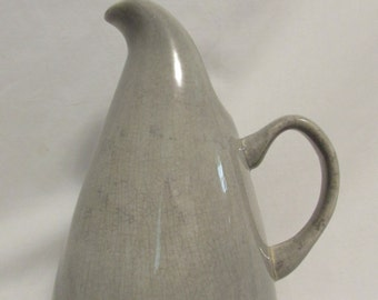 Pitcher, Water, Russel Wright, Soft Grey, 1960's