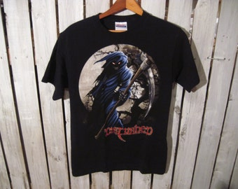 Disturbed T-shirt, Size Small. Upcycled Clothing