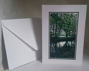 Photography A6 Blank Greetings Card,  Basingstoke Canal 8 (C642015).