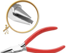 Forming Round and Concave nose pliers Ring Wire Bending Looping Jewellery Tools