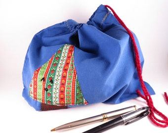 Christmas Gift Bag #4 - Appliqued Gift Bag