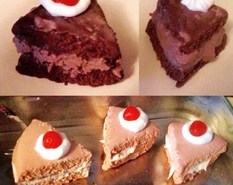 Sweet Treat Charms - Fake Cake Slices