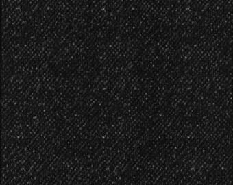45'' Maywood Studios Black Tweed Woolies Flannel MASF 18507-JK by the Yard