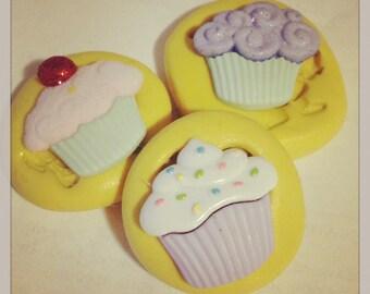 Cupcake set Molds Silicone