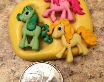 My Little Pony Mold Set silicone