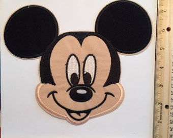 Extra Large Mickey Mouse Iron on