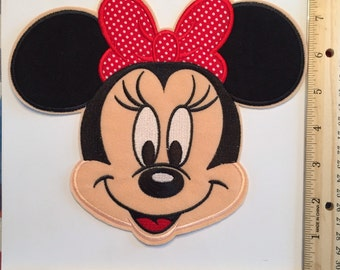 Extra Large Minnie Mouse Patch