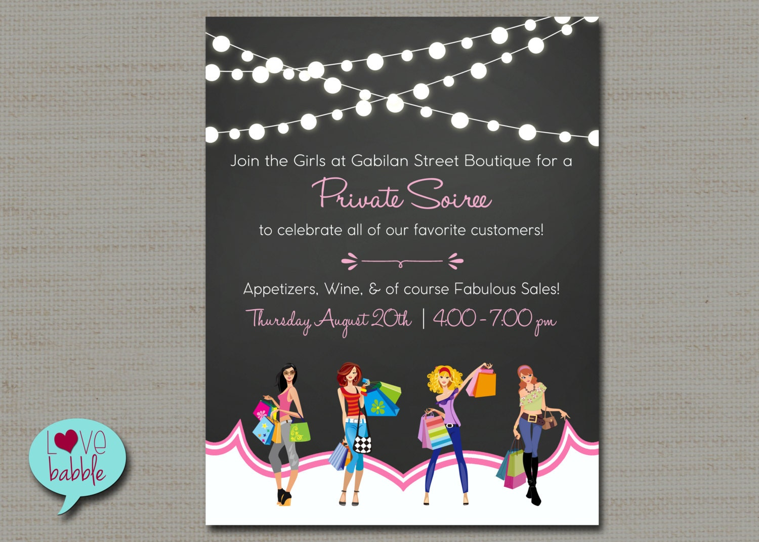 Shopping flyer Home Shopping Party Jewelry Boutique Nail