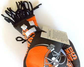 Dammit Doll, Cleveland Browns, football stress relief item
