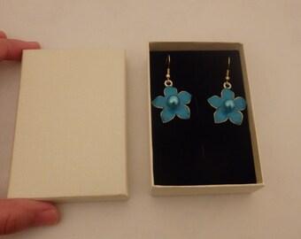 18 earring gift box cardboard jewelry gift box wholesale brooch cufflink