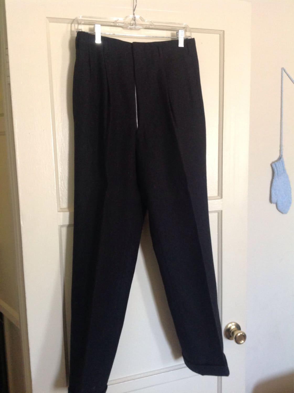 Heavy Wool Dress Pants - Pant Row