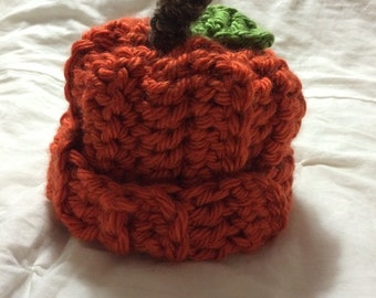 Pumpkin hat.  NB - 6mo