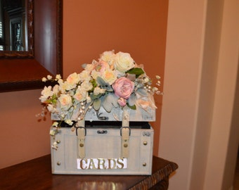 Card Chest, Wedding Card Box, Wedding Chest, Card Box, Wedding Decor, Cards Box, Wedding Cards Chest, XL Card Chest