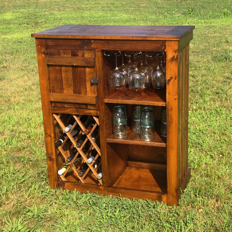 rustic wine bar cabinet. Black Bedroom Furniture Sets. Home Design Ideas