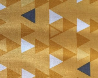 Gold Triangles from V and Company for Moda Fabrics from the Color Theory Collection