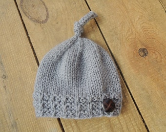 Knitting Pattern - Vebs Hat - sized for Newborn, Baby, Toddler, Child