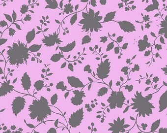 Vine Fabric - Twilight Vine in Plum by Amy Butler - 1/2 Yard