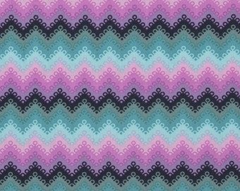 Lace Fabric - Pointed Lace in Dusk by Tula Pink - 1/2 Yard