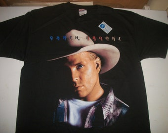 GARTH BROOKS tour shirt 1996 DEADSTOCK