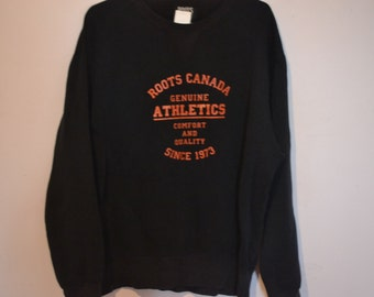 Vintage Roots Sweater - Roots Jumper - Crew Neck - Pullover