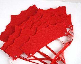 Red Princess Party Crowns, Party Favors- Set of 6-24