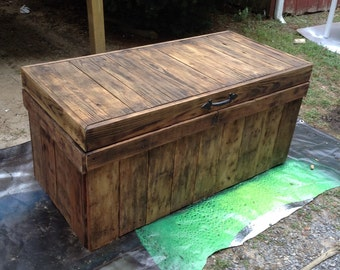 Custom Made Chest From Reclaimed Wood
