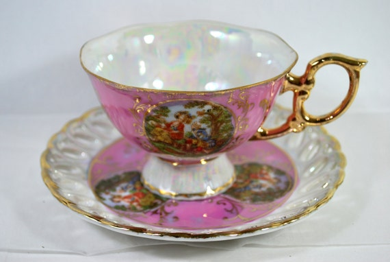 Victorian english tea set