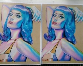 """Katy Perry - Art Print / 8x12"""""""