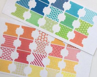 Blank Tabs - Bright Patterns - BT142