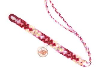Handmade Friendship Bracelet - Arrowhead Bracelet with Signature Charm - Woven Bracelet - Zen