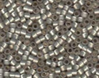 MIYUKI #11 Delica 630 - Silver Lined Grey Opal - 5 grams