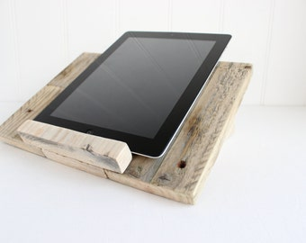 Reclaimed Wooden Tablet Stand