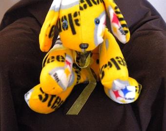 Pittsburgh Steelers Stuffed Dog