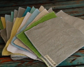 Reusable Dryer sheets sets of four