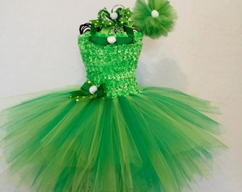 Fairy inspired Tutu set with wand