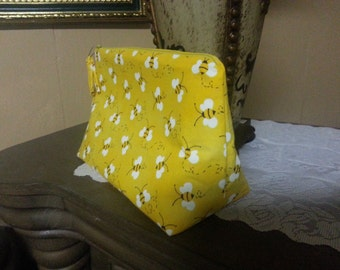Bumble Bee  Cosmetic Bag