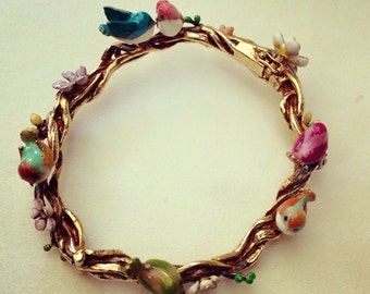 Birds and Bees bangle