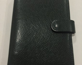 Authentic Louis Vuitton agenda planner