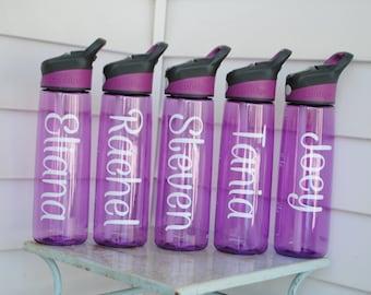 Personalized Large CONTIGO Water Bottle - Name, Monogram, Initials, Name, Custom Text